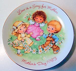 1983 Avon Love Is A Song Plate