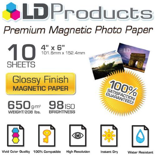 Glossy Inkjet Magnetic Photo Paper