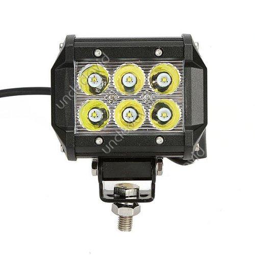 "18W 4"" Led Off-Road Work Light Worklamp Spot Beam 12V 24V Suv Jeep Truck Atv Boat Back Up Light"