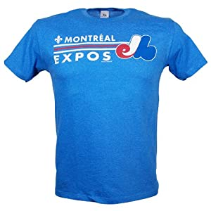 Montreal Expos Cooperstown Sweet Spot T-Shirt by Bulletin