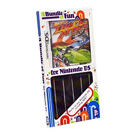 Stylus Bundle with Hot Wheels NDS Game