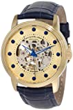 Stuhrling Original Men's 107D.3335C31 Classic Helios Automatic Skeleton Blue Watch