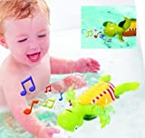 (TOMY) Aqua Fun Swim 'n' Sing Turtle (12m+)