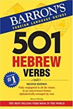 501 Hebrew Verbs (Barron's Foreign Langage…