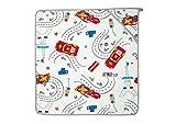 De soporte para toallas de diseño de Ferrari de Speed para el baño de madera de caucho diseño de Mickey con mangas para bebé