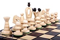 The Kasbah - Unique Wood Chess Set w/ Board & Storage