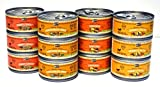 Merrick Grain Free Canned Dog Food Variety Bundle - 4 Flavors (Turducken, Thanksgiving Day Dinner, Grammy's Pot Pie, and Cowboy Cookout) - 3.2 Ounces Each (12 Total Cans - 3 of Each Flavor)