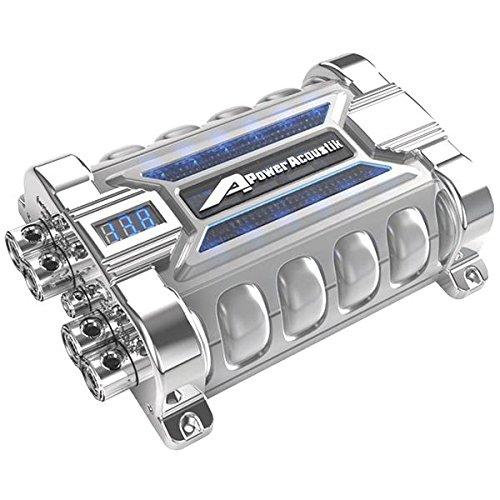Power Acoustik 10-Farad Capacitor 12.55In. X 9.40In. X 3.55In.