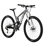 Diamondback Bicycles 2014 Sortie 1 Trail Full Suspension Mountain Bike (29-Inch Wheels), 19-Inch, Silver