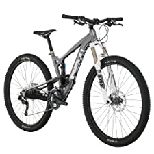 Diamondback Bicycles 2014 Sortie 1 Trail Full Suspension Mountain Bike (29-Inch Wheels), 17-Inch, Silver