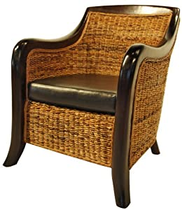 New Pacific Direct Monaco Living Chair, Natural