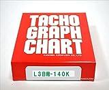 小芝記録紙 ( KOSHIBA ) チャート紙 【3日用】 140Km/h 10組入リ KL-3-140