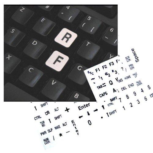 Autocollants Lisibilité Clavier PC Grosses Touches - comforteo ®