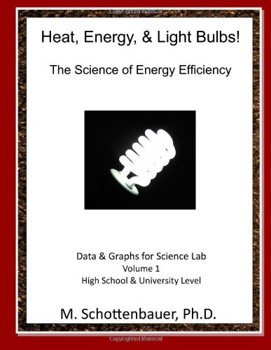 Heat, Energy, & Light Bulbs! The Science of Energy Efficiency: Data and Graphs for Science Lab: Volume 1