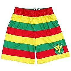 Hawaii Kanaka Maoli Flag Lacrosse Shorts