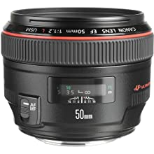 Canon EF 50mm f/1.2 L USM Lens for Canon Digital SLR Cameras