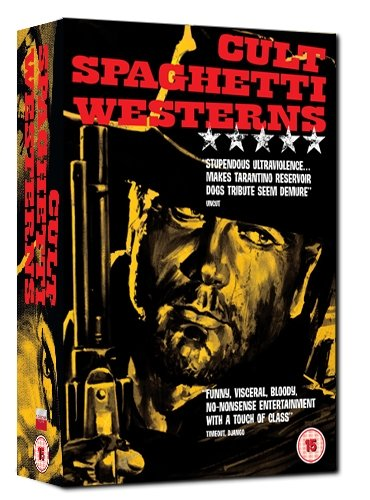 Cult Spaghetti Westerns Box Set - DJANGO, A BULLET FOR THE GENERAL, KEOMA [DVD]