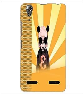 PrintDhaba Cartoon D-2923 Back Case Cover for LENOVO A6000 (Multi-Coloured)