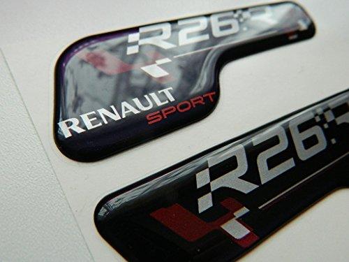 X2 SET OF RENAULT SPORTS R26 BADGE EMBLÈMES