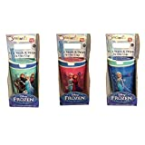 Snackeez Jr. in Blue ~ Disney Elsa, Anna, & Olaf (2 in 1 Drink & Snack in One Cup)