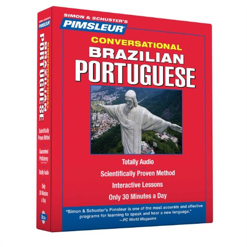 Pimsleur Portuguese (Brazilian) Conversational Course - Level 1 Lessons 1-16 CD: Learn to Speak and Understand Brazilian Portuguese with Pimsleur Language Programs (English and Portuguese Edition)