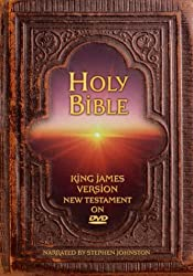 The Holy Bible - Complete King James Version - Old & New Testament- DVD