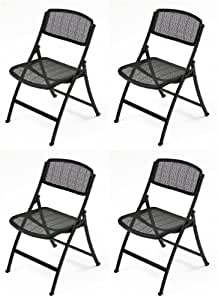 Amazon Com Flex Lite Mesh One Folding Guest Chair From
