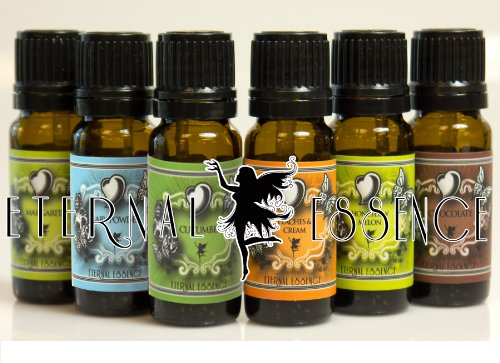 Scented Oil - Top New 6 - Honeydew Melon - Pumpkin Patch - Chocolate - Baby Powder - Cucumber - Peaches & Cream - 10Ml - Fragrance Oil