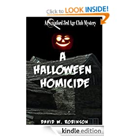 A Halloween Homicide (#3 - Sanford Third Age Club Mystery)