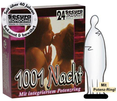 Orion Secura 1001 Nacht (24 transparente Kondome)