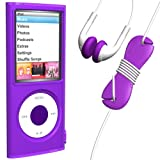 LoopSiliconCase iPodnano4GStarter Purple