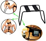 Moonight Ultimate Stimulate stainless Steel sex Bondage Chair,Sex Stool Trampoline For Couple