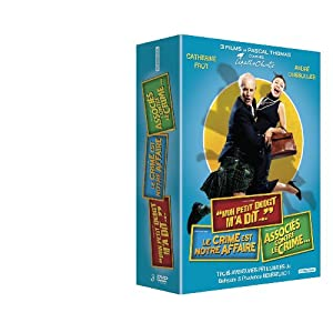 """3 films de Pascal Thomas d'après Agatha Christie - """"Mon petit doigt m'a dit..."""" + Le crime est notr"""