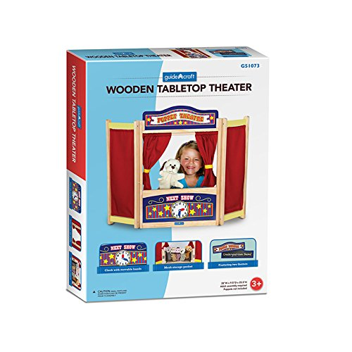 GUIDECRAFT USA PRETEND & PLAY TABLETOP THEATER (Set of 3) theater of cruelty