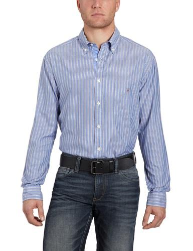 Gant Men's 382600 Casual Shirt Brown (Espresso) 56