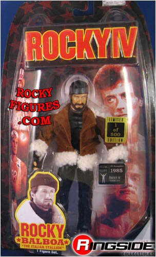 Buy Low Price Jakks Pacific ROCKY BALBOA WITH FLOCKED BEARD (RARE 1 OF 500 VARIANT) – ROCKY SERIES 4 ACTION FIGURE (B000UD2QEA)