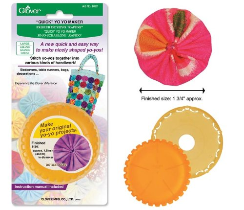 Find Bargain Clover Round Large Yo-Yo Maker