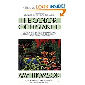 The Color of Distance by Amy Thomson