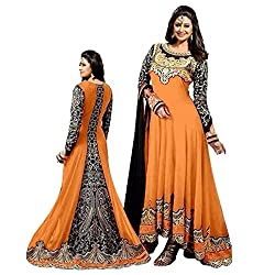 Shree Ganesh Women's Georgette Unstitched Dress Materials [D49]