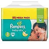 Pampers Baby-Dry Windeln Mini Gr. 3 5-9kg x100Schichten
