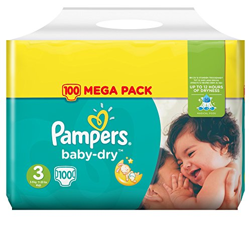 pampers baby dry pannolini trova prezzo in offerta. Black Bedroom Furniture Sets. Home Design Ideas