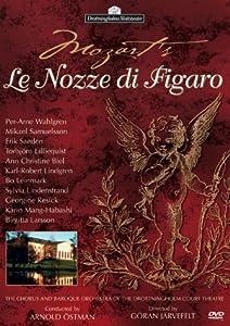 Mozart - Le Nozze di Figaro (The Marriage of Figaro) / Ostmann, Wahlgren, Samuelsson, Drottningholm Court Theatre