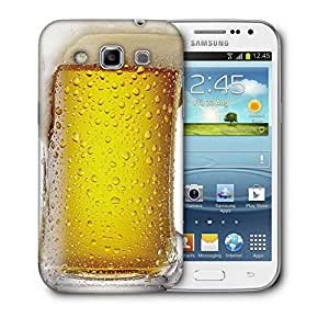 Snoogg Beer Bottle Designer Protective Back Case Cover For Samsung Galaxy Win i8552