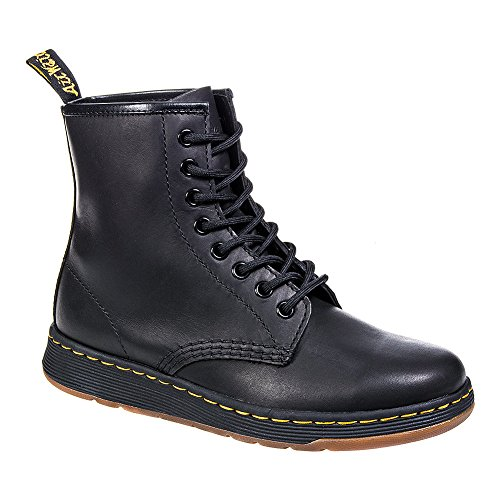 Dr Martens Nero Newton 8 Eye Stivali-UK 4