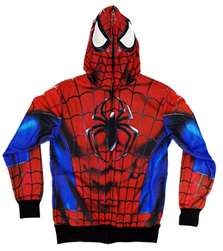 Marvel Spider-Man Classic Sublimated Costume Hoodie TSP-E2013MZQ