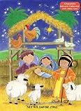 Newborn King Chocolate Advent Calendar,2.65oz