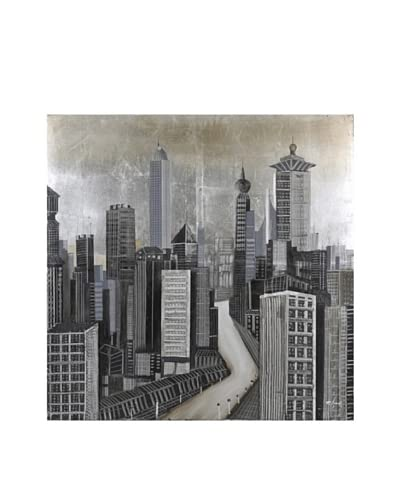 City of Dreams Hand-Painted Canvas