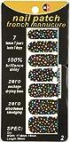 Looks United 14 Self Adhesive Self Designed Long lasting Nail Art Stickers, Multicolor