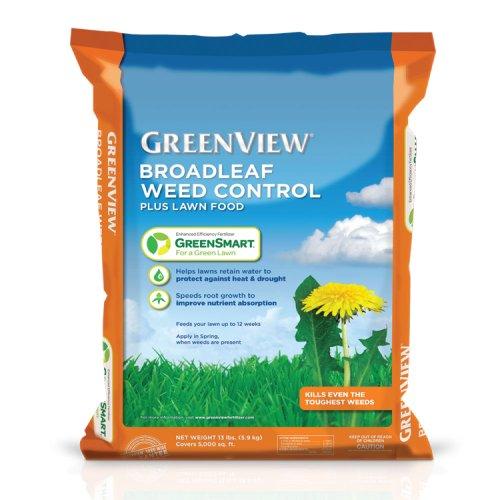GreenView GreenSmart Enhanced Efficiency Fertilizer Broadleaf Weed Control Plus Fertilizer