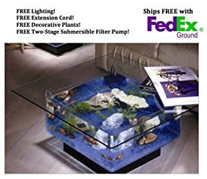Midwest Tropical 675 Square Aquarium Coffee Table
